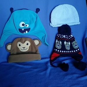 Baby knit beanie bundle 6-18 months